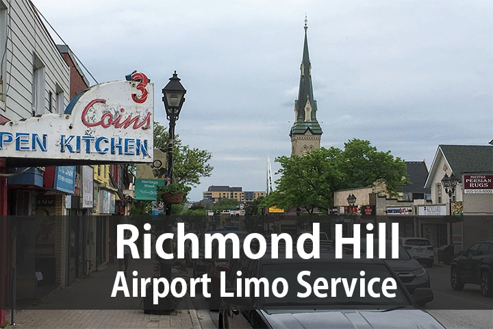 Richmond Hill airport limo